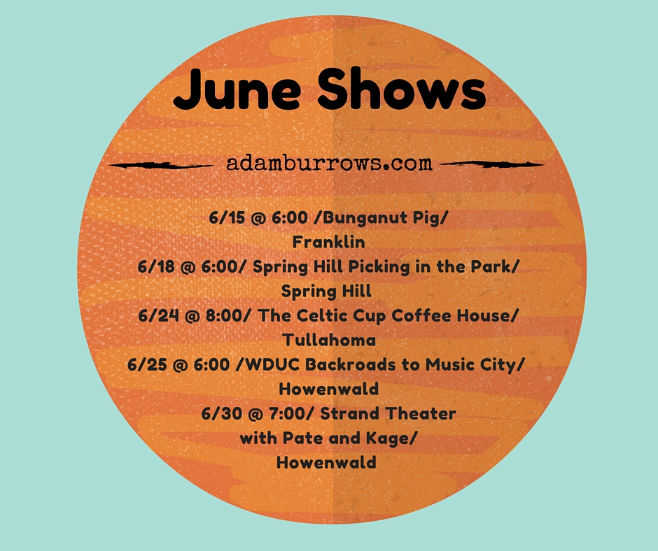 June Shows copy